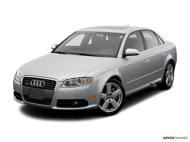 2006 Audi S4 Front angle view