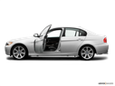 2006 BMW 3 Series Driver's side profile with drivers side door open