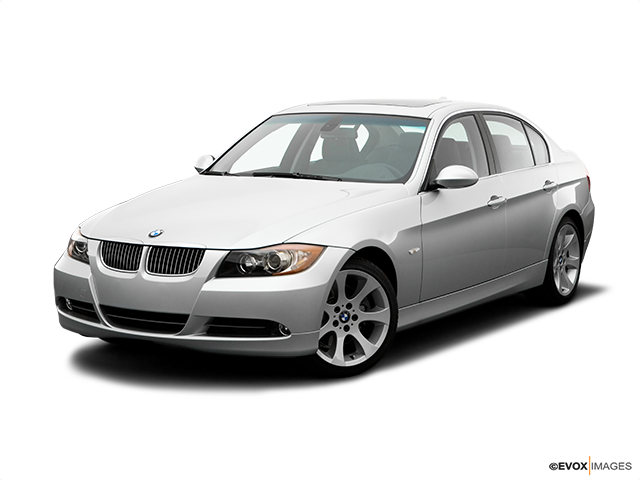 2006 BMW 3 Series Front angle view