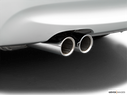 2006 BMW 3 Series Chrome tip exhaust pipe