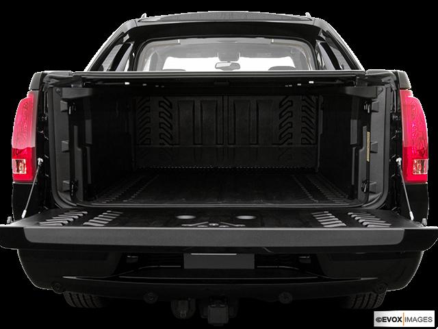 2006 Cadillac Escalade EXT Trunk open