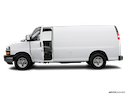 2006 Chevrolet Express Cargo Driver's side profile with drivers side door open