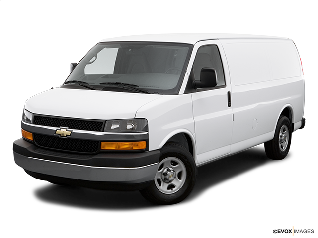 2006 Chevrolet Express Cargo Front angle view
