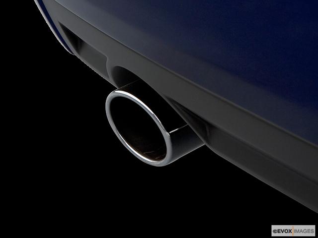 2006 Chevrolet Malibu Chrome tip exhaust pipe