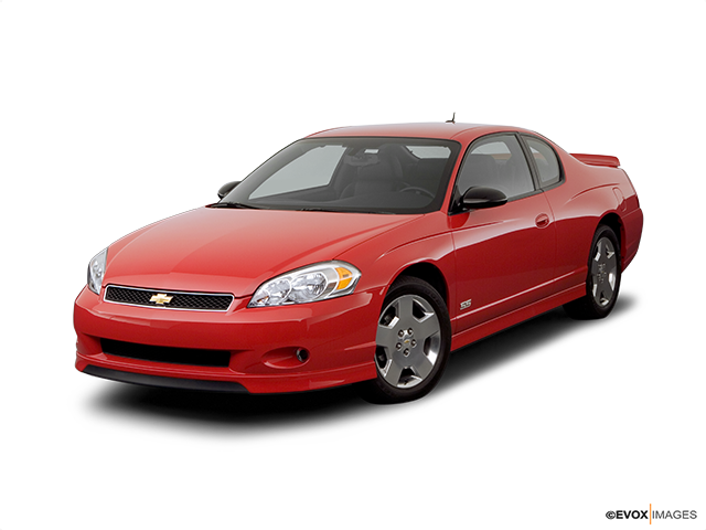 2006 Chevrolet Monte Carlo Front angle view