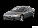 2006 Chrysler Sebring Front angle view