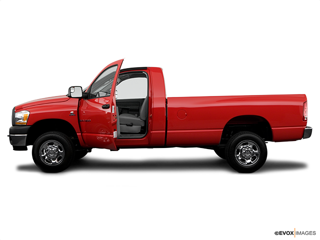 2006 Dodge Ram Pickup 2500 Driver's side profile with drivers side door open