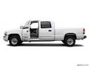 2006 GMC Sierra 1500HD Driver's side profile with drivers side door open