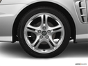 2006 Hyundai Tiburon Front Drivers side wheel at profile