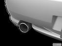 2006 Hyundai Tiburon Chrome tip exhaust pipe