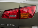 2006 Lexus IS 250 Passenger Side Taillight