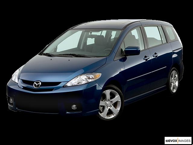 2006 Mazda Mazda5 Front angle view
