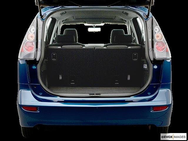 2006 Mazda Mazda5 Trunk open