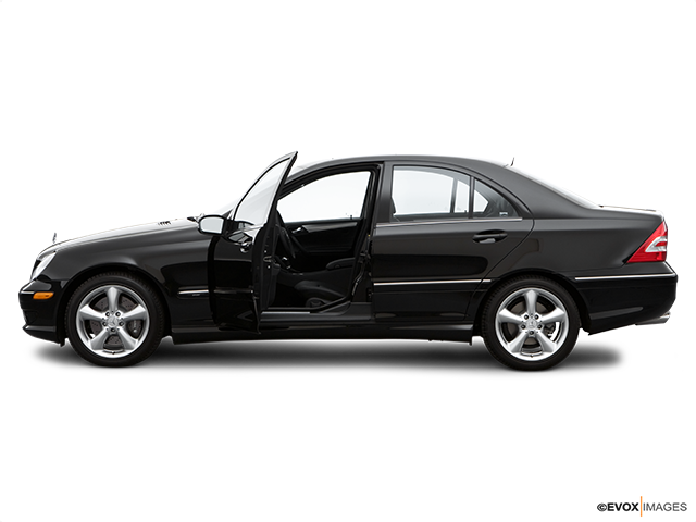 2006 Mercedes-Benz C-Class Driver's side profile with drivers side door open