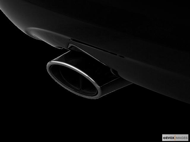 2006 Mercedes-Benz C-Class Chrome tip exhaust pipe