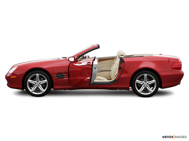 2006 Mercedes-Benz SL-Class Driver's side profile with drivers side door open