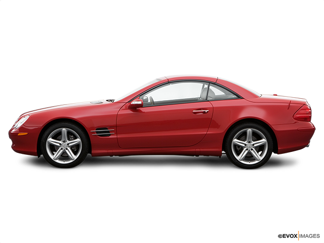 2006 Mercedes-Benz SL-Class Drivers side profile, convertible top up (convertibles only)