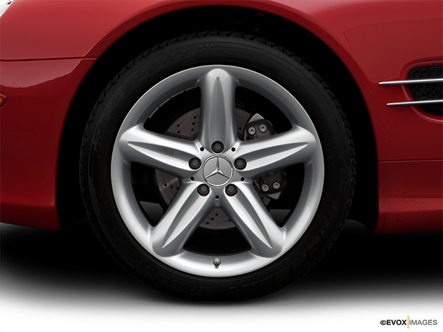 2006 Mercedes-Benz SL-Class Front Drivers side wheel at profile