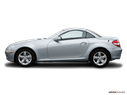 2006 Mercedes-Benz SLK Drivers side profile, convertible top up (convertibles only)