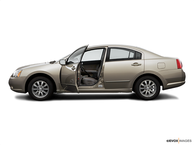 2006 Mitsubishi Galant Driver's side profile with drivers side door open