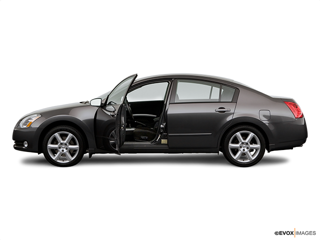 2006 Nissan Maxima Driver's side profile with drivers side door open