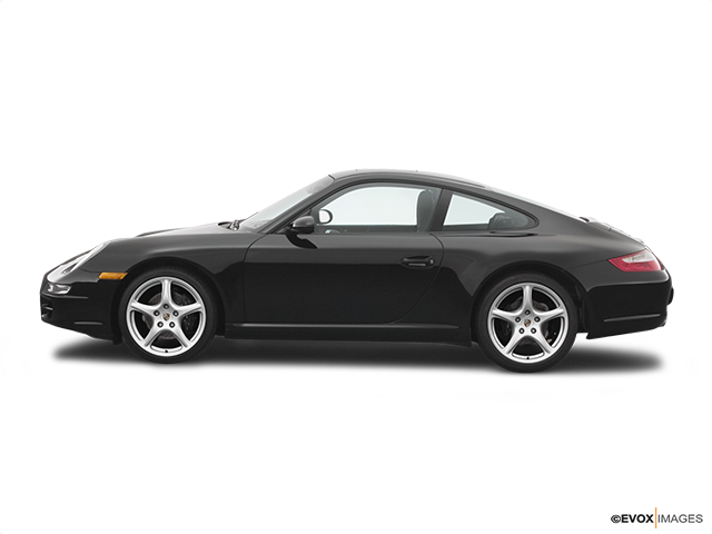 2006 Porsche 911 Drivers side profile, convertible top up (convertibles only)