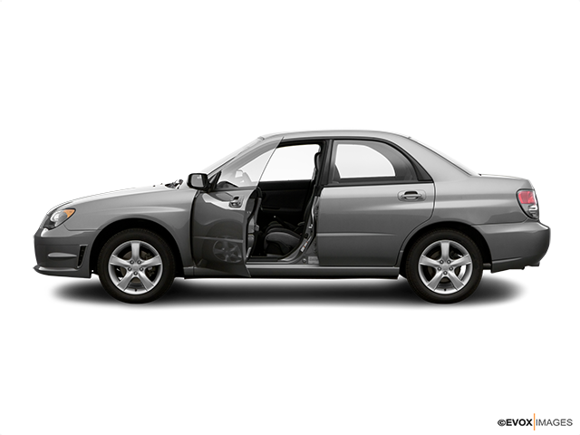 2006 Subaru Impreza Driver's side profile with drivers side door open