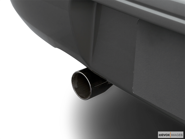 2006 Subaru Impreza Chrome tip exhaust pipe