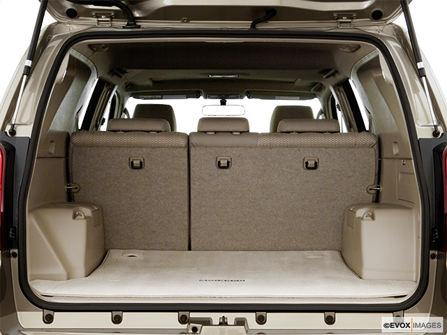 2006 Toyota 4Runner Trunk open