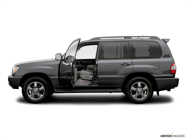2006 Toyota Land Cruiser Driver's side profile with drivers side door open