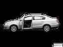 2006 Volkswagen Passat Driver's side profile with drivers side door open