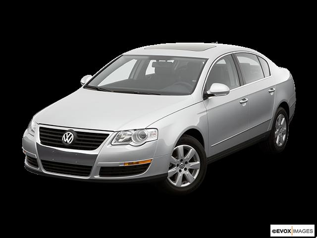 2006 Volkswagen Passat Front angle view