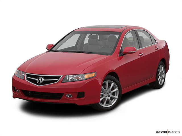 2007 Acura TSX Front angle view