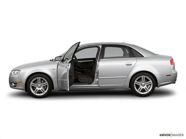 2007 Audi A4 Driver's side profile with drivers side door open