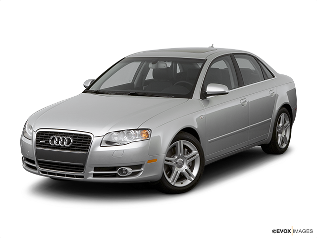 2007 Audi A4 Front angle view