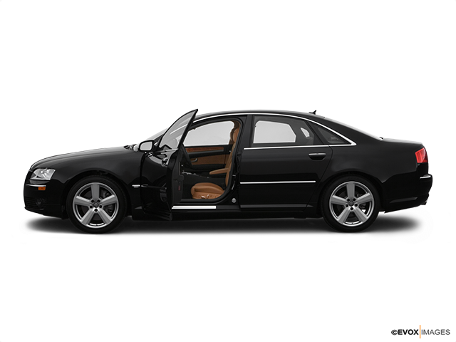 2007 Audi A8 Driver's side profile with drivers side door open