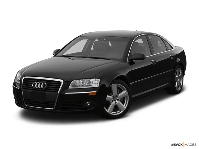 2007 Audi A8 Front angle view