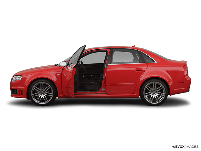 2007 Audi RS 4 Driver's side profile with drivers side door open