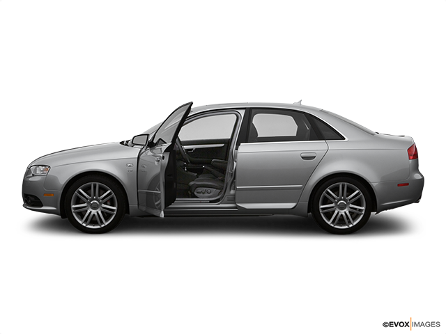 2007 Audi S4 Driver's side profile with drivers side door open