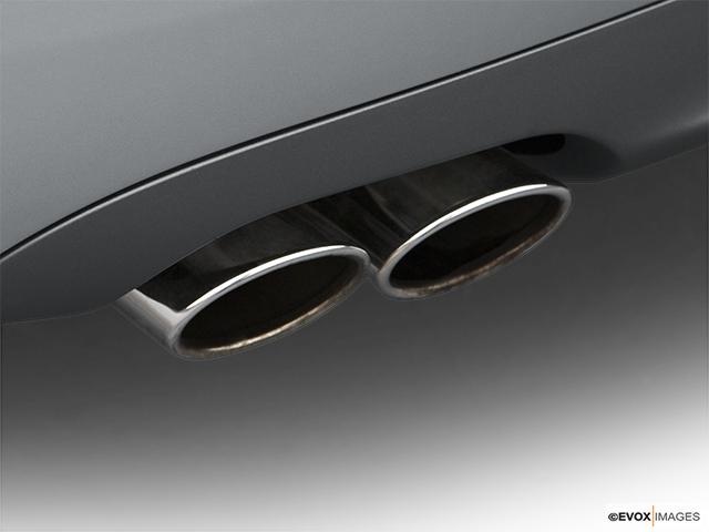 2007 Audi S4 Chrome tip exhaust pipe