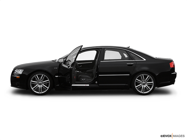 2007 Audi S8 Driver's side profile with drivers side door open