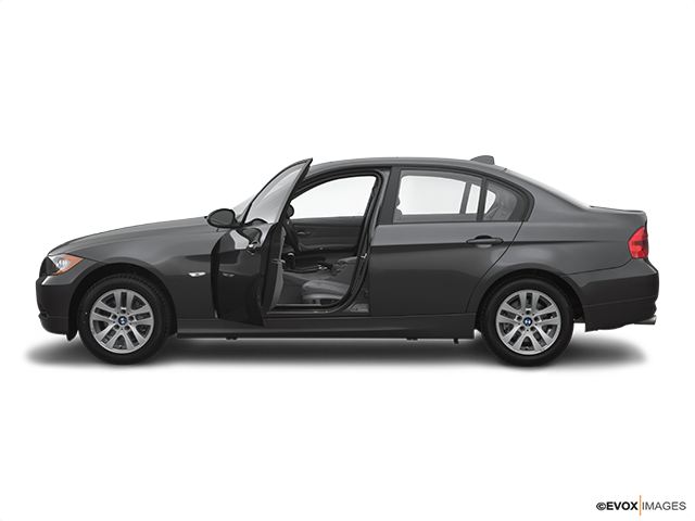 2007 BMW 3 Series Driver's side profile with drivers side door open