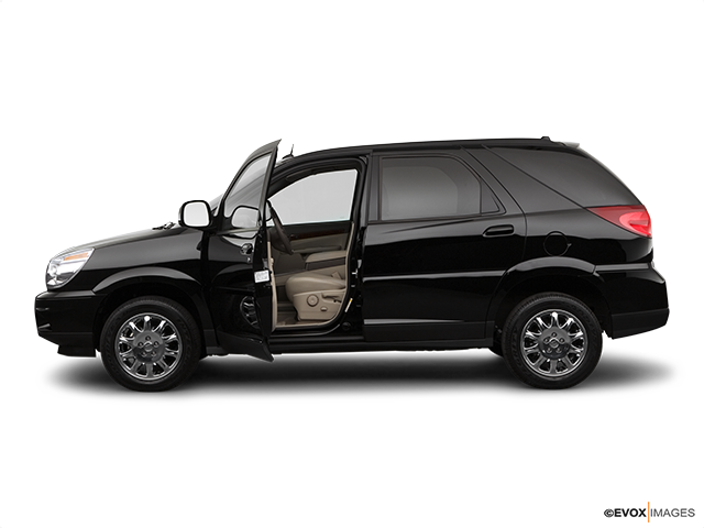 2007 Buick Rendezvous Driver's side profile with drivers side door open