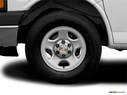 2007 Chevrolet Express Cargo Front Drivers side wheel at profile