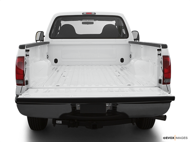 2007 Ford F-250 Super Duty Trunk open