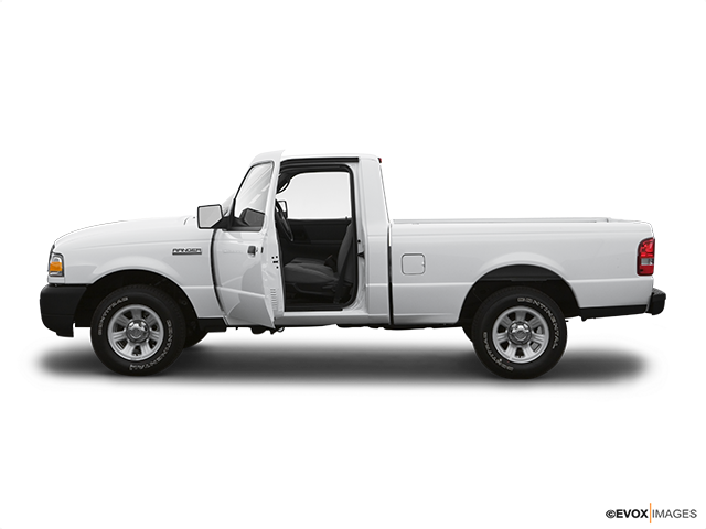 2007 Ford Ranger Driver's side profile with drivers side door open