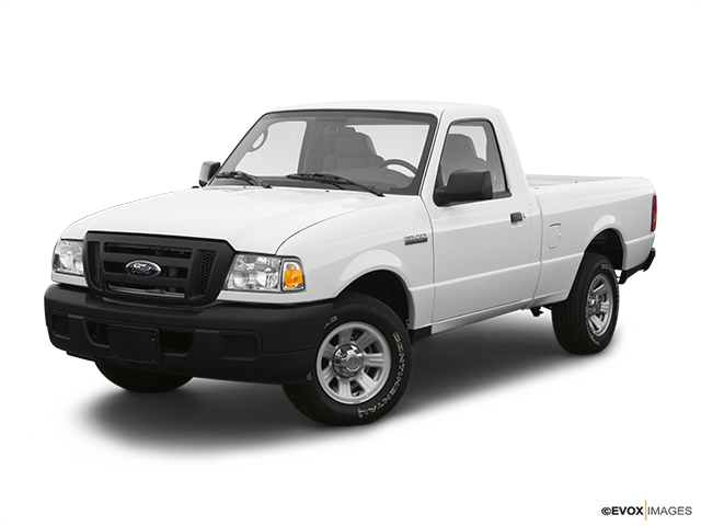 2007 Ford Ranger Front angle view