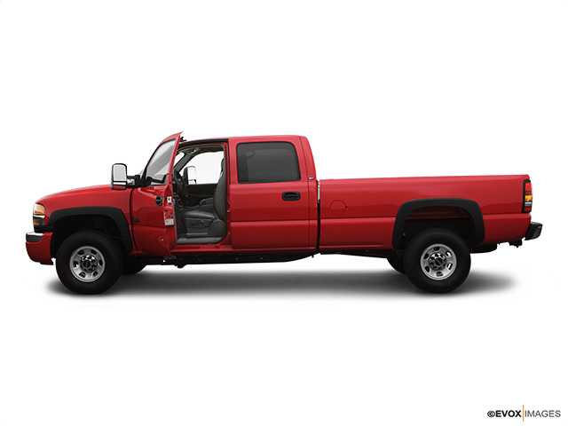 2007 GMC Sierra 3500 Classic Driver's side profile with drivers side door open
