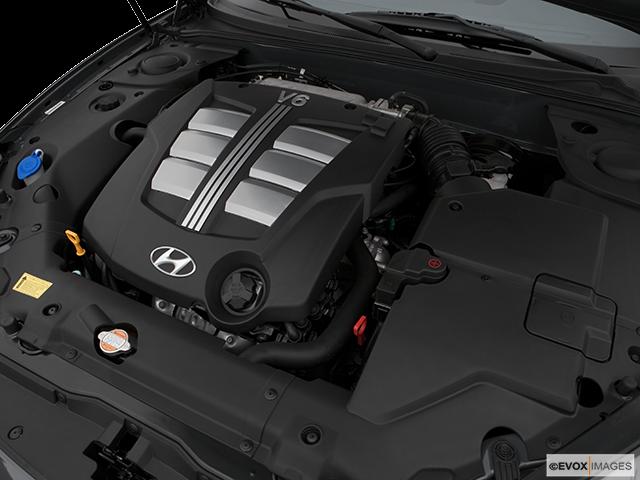 2007 Hyundai Tiburon Engine