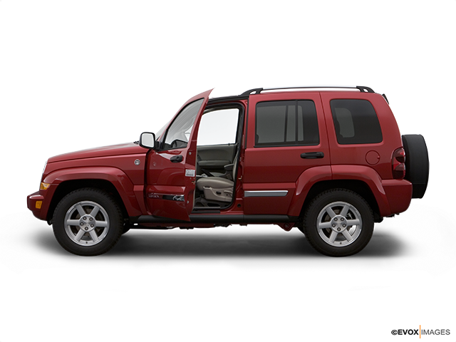 2007 Jeep Liberty Driver's side profile with drivers side door open